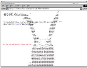 ASCII-art с Фрэнком